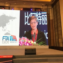 FTA Europe Secretary General in China